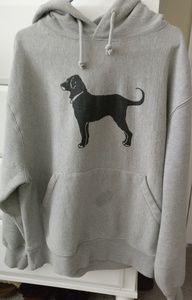 The Black Dog Men's Heavyweight Sweatshirt Medium